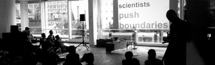 Artists & scientists: Push Boundaries! My keynote at Body Controlled #4 / at LEAP Berlin