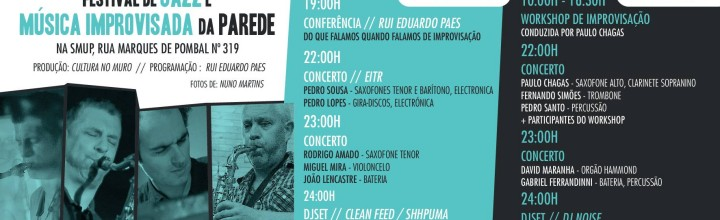 26th September // EITR // Festival de Jazz da Parede @ SMUP // Lisbon [video]